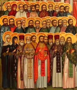 Новомученики Ярославской митрополии. Мученица Мария- вторая слева в верхнем ряду